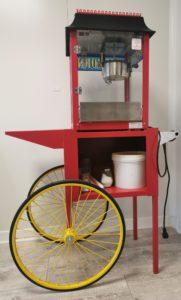 Cette image représente une machine à pop-corn