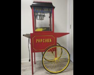 Cette image représente la vente location : une machine à pop-corn