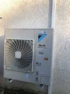 Cette image représente la climatisation